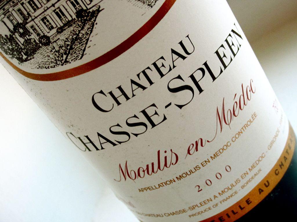 Wine Chateau Chasse-Spleen 2000 5L
