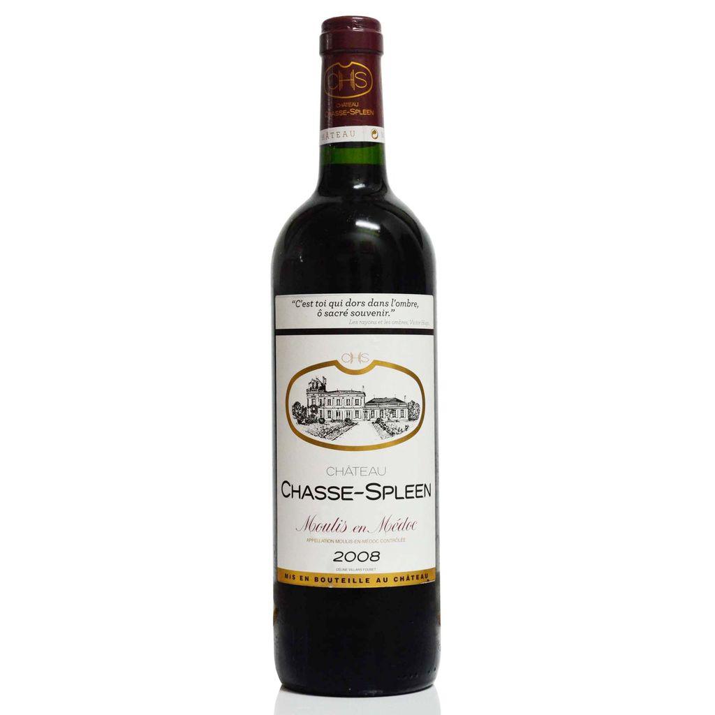Wine Chateau Chasse-Spleen 2009 6L