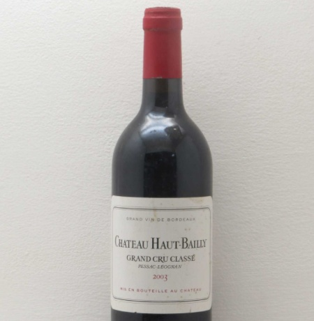 Wine Chateau Haut Bailly 2003 6L