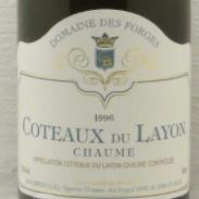 Wine CHATEAU SOUCHERIE 'CHAUME' COTEAUX-DU-LAYON 1996