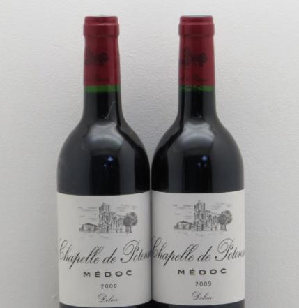 Wine La Chapelle de Potensac 2009