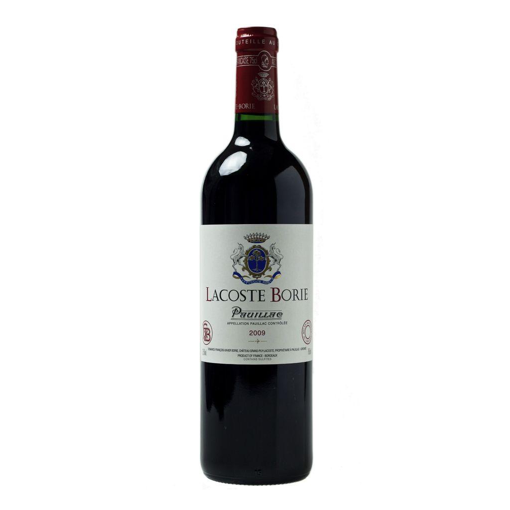 Wine Lacoste Borie 2009 3L