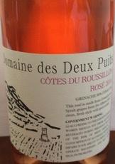 Wine Domaine des Deux Puits Cotes du Roussillon Rose 2015