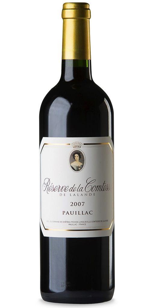 Wine Reserve de la Comtesse 2007