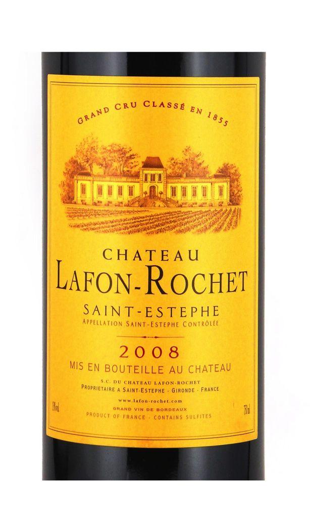 Wine Ch. Lafon Rochet 2008
