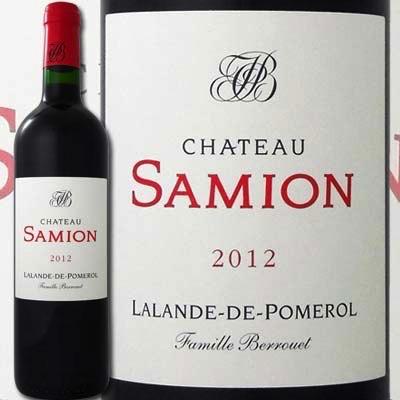 Wine Ch. Samion Lalande-de-Pomerol 2012