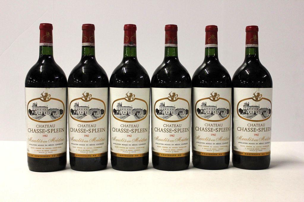 Wine Ch Chasse Spleen 1982 1.5L