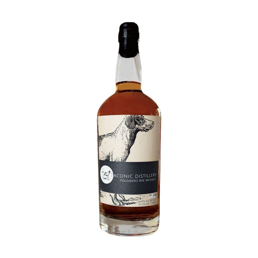 Spirits Taconic Distillery Founders Rye Whiskey