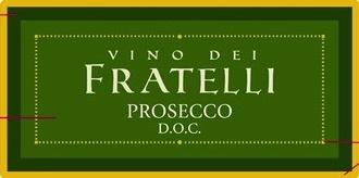 Sparkling Vino dei Fratelli Prosecco DOC Extra Dry