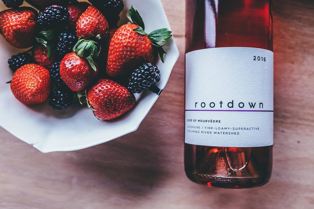 Wine Rootdown Mourvedre Rose 2016