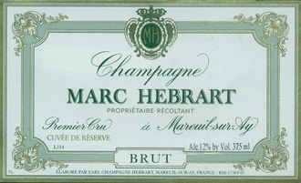 Sparkling Marc Hebrart Champagne Cuvee de Reserve Brut