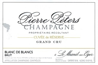 Sparkling Pierre Peters Champagne Cuvee Reserve
