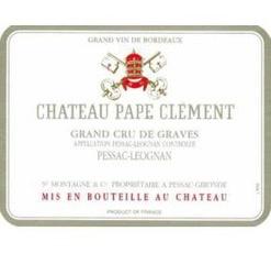 Wine Château Pape Clément, Pessac-Léognan Grand Cru Classé de Graves Blanc 2013