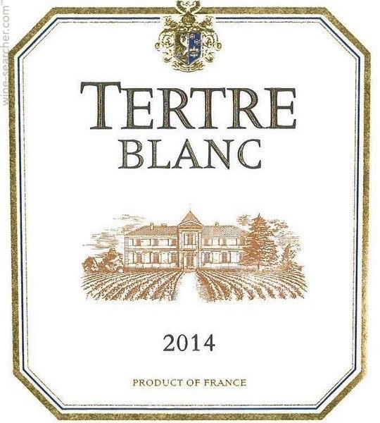 Wine Château du Tertre (Margaux), Tertre Blanc VDF 2015