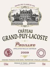Wine Château Grand-Puy-Lacoste, Pauillac 5ème Grand Cru Classé 1998