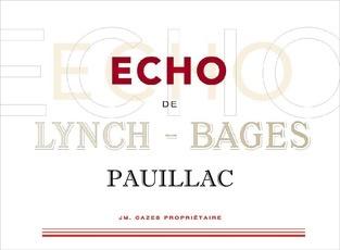 Wine Château Lynch-Bages, Echo de Lynch Bages Pauillac 2012