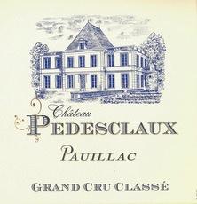 Wine Château Pedesclaux Pauillac 2012