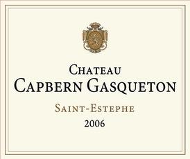 Wine Château Capbern Gasqueton, Saint-Estèphe 2012
