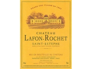 Wine Château Lafon-Rochet, Saint-Estèphe 4ème Grand Cru Classé 2008