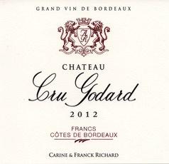 Wine Château Cru Godard, Francs Côtes de Bordeaux 2012