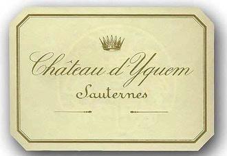 Wine Château d'Yquem, 1er Grand Cru Classé Sauternes 1996