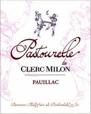 Wine Château Clerc Milon, Pastourelle de Clerc Milon Pauillac 2009 1.5L