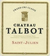Wine Château Talbot, Saint-Julien 4ème Grand Cru Classé 2011 1.5L
