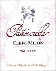 Wine Château Clerc Milon, Pastourelle de Clerc Milon Pauillac 2009 375 ML