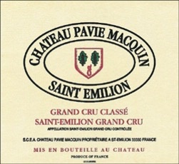 Wine Château Pavie-Macquin, Saint-Émilion Grand Cru Classé  2012