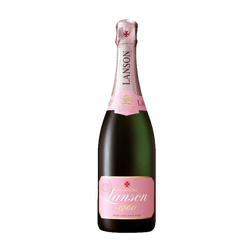Sparkling Lanson Brut Rose Champagne NV