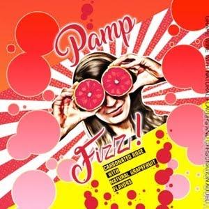 Sparkling Pamp Fizz Grapefruit Sparkling Rose Cans 250ml 4pack