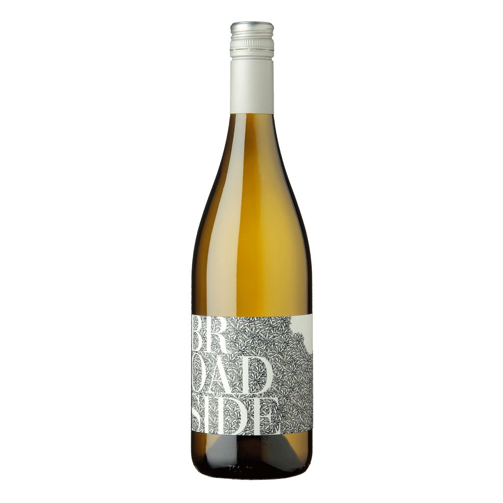 Wine Broadside Edna Valley Chardonnay Wild Ferment 2015