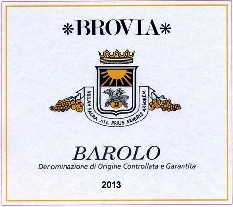 Wine Brovia Barolo 2013