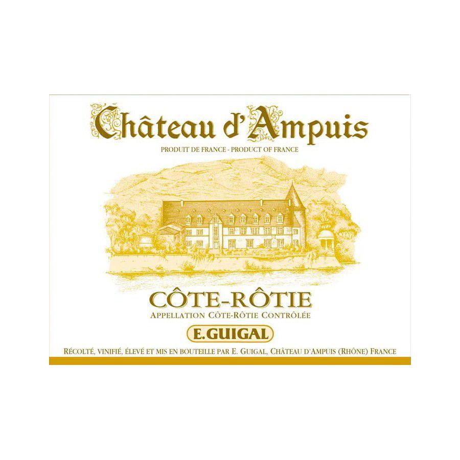 Wine Guigal Cote Rotie Chateau d'Ampuis 2011