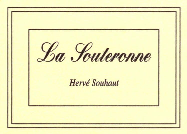 Wine Herve Souhaut Souteronne 2016