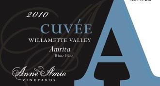 Wine Anne Amie Willamette Valley Cuvee Amrita White 2015