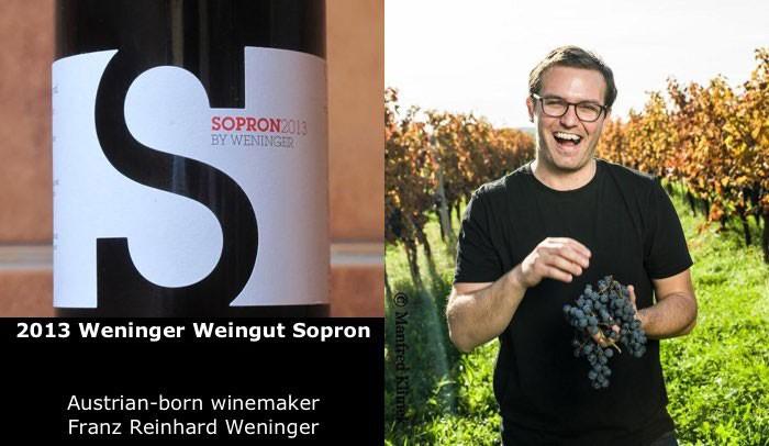 Wine Weninger Weingut Sopron 2013