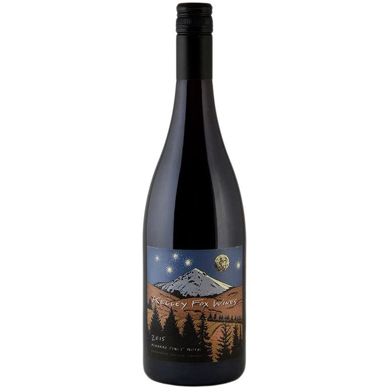 Wine Kelley Fox Wines Willamette Valley Pinot Noir Mirabai 2015