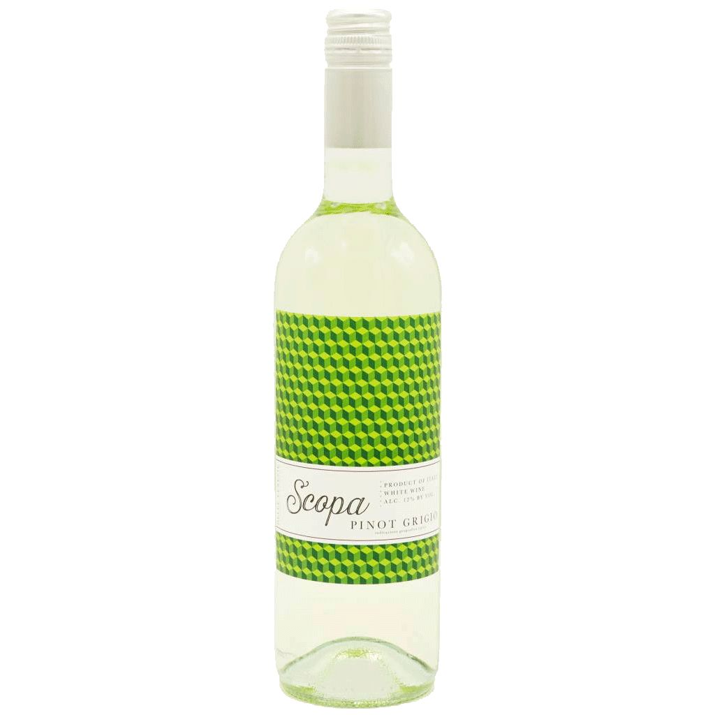 Wine Scopa Pinot Grigio 2015