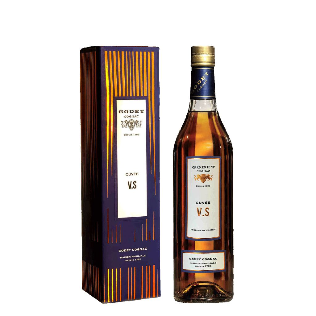 Spirits Godet Cognac VS Cuvee Gift Box