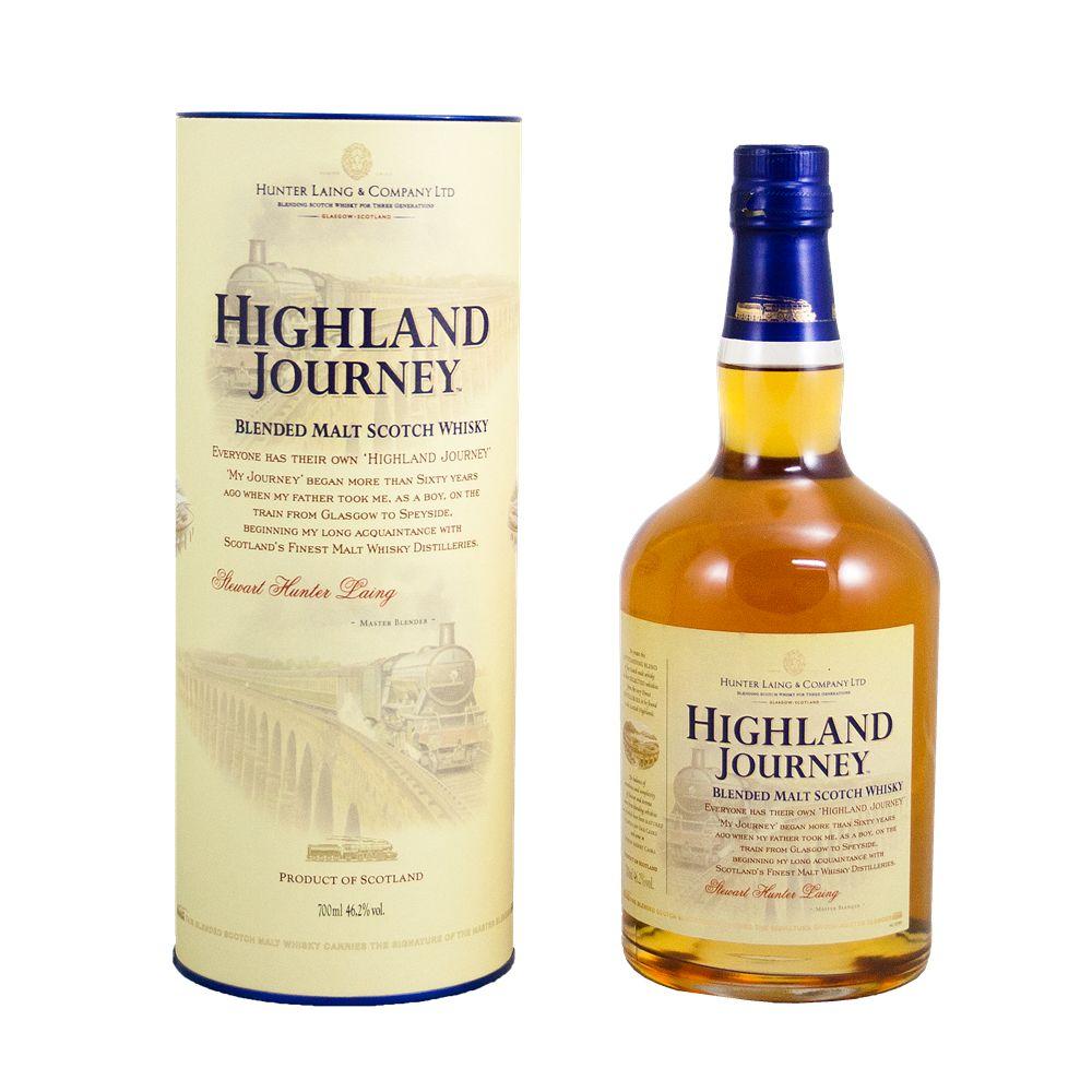 Spirits HIghland Journey Blended Malt Scotch Whiskey