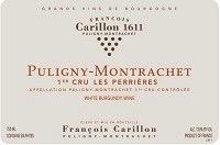 Wine Francois Carillon Puligny Montrachet Les Perrieres Premier Cru 2013
