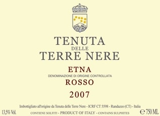 Wine Terre Nere Etna Rosso 2016