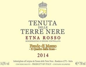 Wine Terre Nere Etna Rosso Feudo di Mezzo 2015