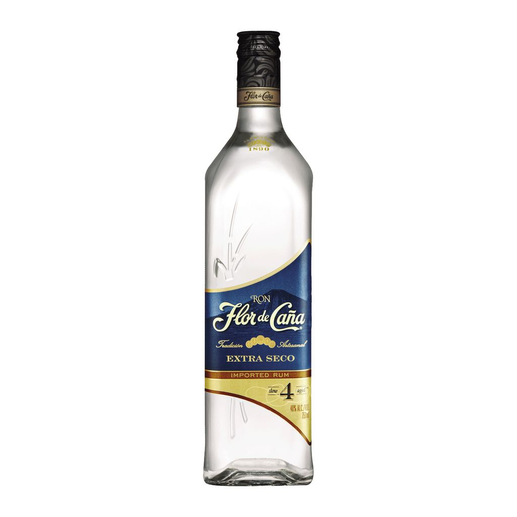 Spirits Flor de Cana Rum 4 Year Extra Seco
