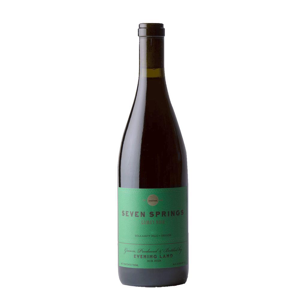 Wine Evening Land Seven Springs Vineyard Estate Gamay Noir 2015