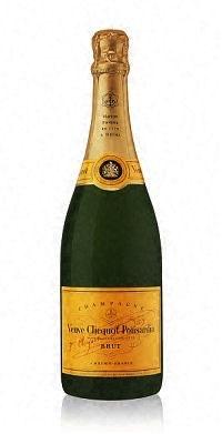 Sparkling Veuve Clicquot Champagne Brut Yellow Label 375ml
