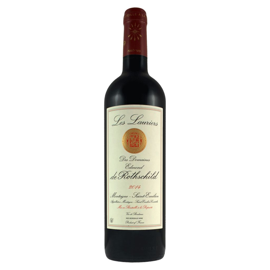 Wine Montagne Saint-Émilion Les Lauriers de Rothschild Kosher 2015