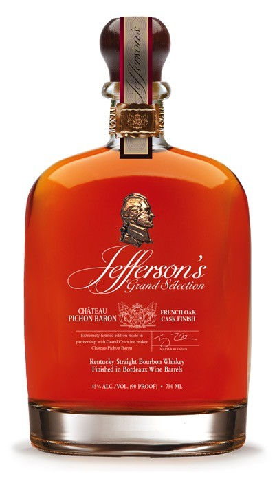 Spirits Jefferson's 'Pichon Baron' Bourbon