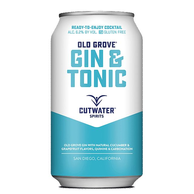 Spirits Cutwater Gin & Tonic Can